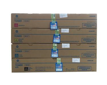 柯尼卡美能达C454e碳粉盒一套四个颜色