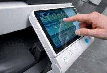 震旦ADC286复印机9寸超大彩色液晶电容式触摸屏